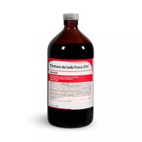 Tintura de Iodo 2% 1.000 ml  - Rioquimica