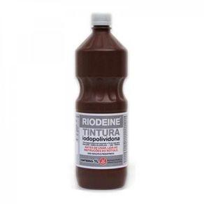 Iodopolividona Solução Hidroalcoólica 10%  1.000 ML (Riodeine Tintura) - Rioquimica
