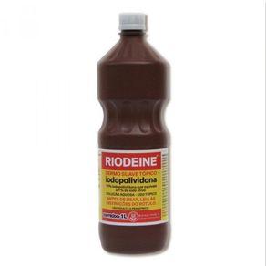 Riodeine Dermo Suave Tópico (Iodopolividona Solução Aquosa) - Rioquimica 100 ML