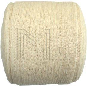 Malha tubular em tecido 100% Algodão - MSO 4 CM X 15 METROS