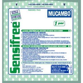 Luva Cirúrgica Estéril Sensifree (Sem talco) - MUCAMBO 6,5