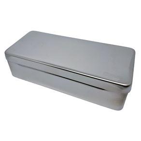 Estojo de Inox - Fami 10 x 10 x 3 cm