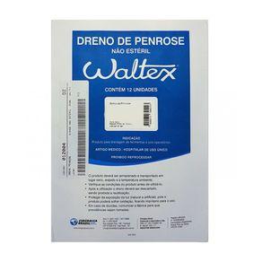 Dreno de Penrose com 12 unidades (Não Estéril) - Waltex 02 / Conteúdo: não esteril c/12