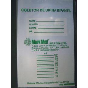 Coletor de Urina infantil Unissex  10 Unidades - Labor Import