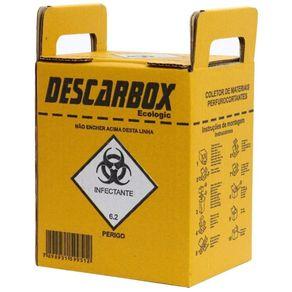 Coletor de Artigos Perfurocortantes - Descarbox 03 LITROS