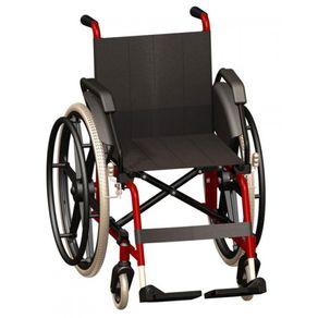 Cadeira de Rodas Cantu Vinho - Jaguaribe
