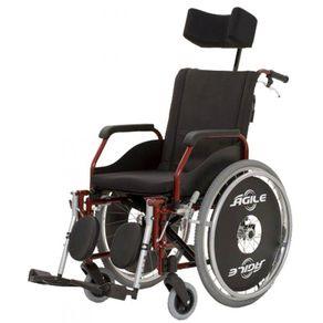 Cadeira de Rodas Agile Reclinável - Jaguaribe