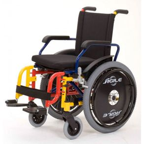 Cadeira de Rodas Agile Infantil - Jaguaribe AGILE INFANTIL MONOBLOCO / 30 33 36