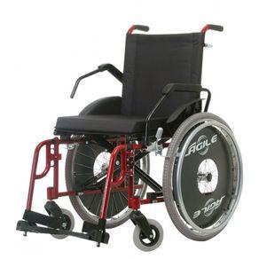 Cadeira de Rodas Agile Fat 50 com Elevação - Jaguaribe