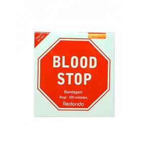 Blood Stop Bandagem Anti-séptica C/500 Unidades (Curativo Após Injeção) - Amp BLOOD STOP