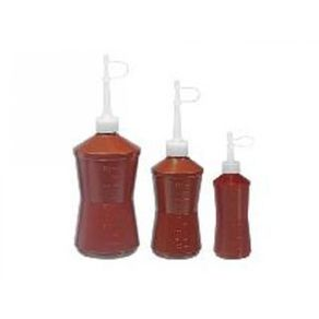 Almotolia Plástica Escura Âmbar (bisnaga) - J. Prolab 120 ML