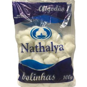 Algodão Hidrófilo em Bolas 100gr - Nathalya