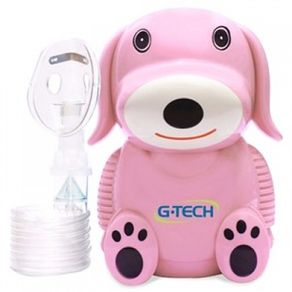 Inalador e Nebulizador G-Tech Nebdog - G-TECH