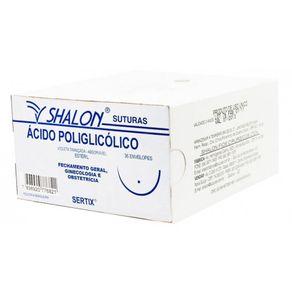 Fio de Sutura Vicryl 3-0 (Ácido Poliglicólico) - Shalon Agulha 1/2 circular 2,5cm (G530MR25)